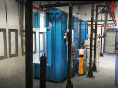 Conveyorised Powder Coating Plants
