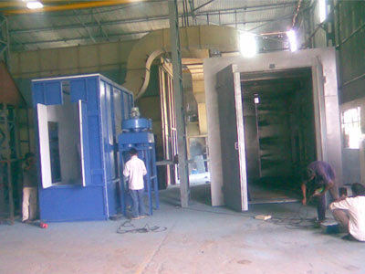 Powder Coating Plants (Electrical, Gas and Oil Fired)